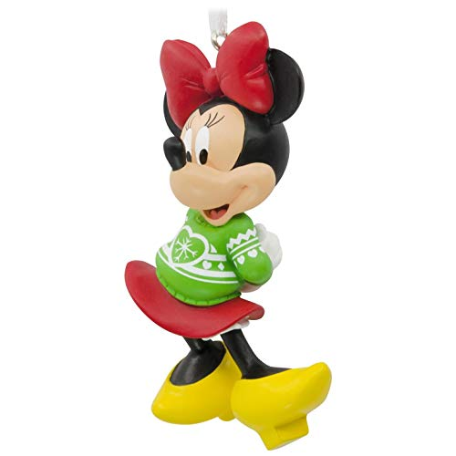 Hallmark Ornament Disney Minnie Mouse Christmas Sweater