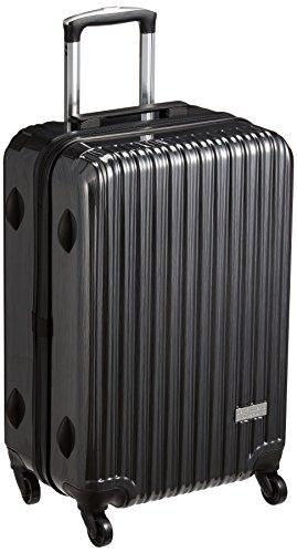 [デイコマンド] スーツケース等 保証付 50L 61 cm 3.6kg DC-0745-55 ブラックヘアーライン