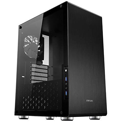 Jonsbo U4 B Black/SGCC Acciaio/Alluminio/Vetro temperato ATX Mid Tower