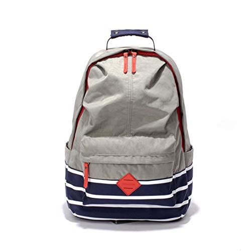 Mannen en vrouwen rugzak schoudertas laptoptas eenvoudige outdoor reisbagage tas met grote capaciteit grijze draagbare multifunctionele