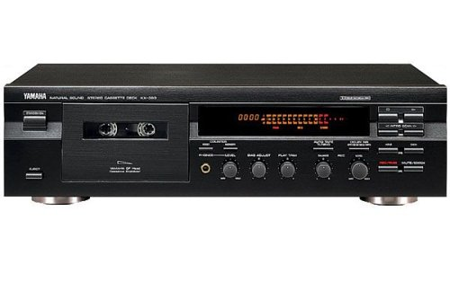 Yamaha KX 393 Kassettendeck schwarz