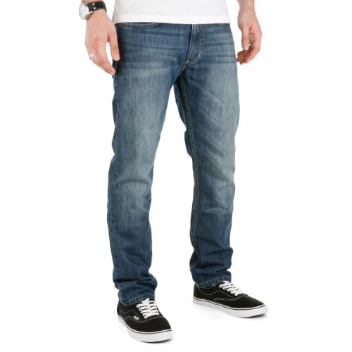 Sequence Jeans Hose Drift Pant mid blue denim 29/30