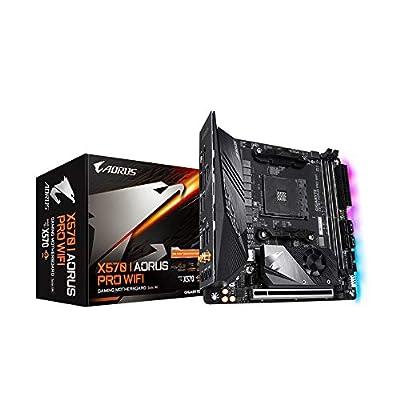 Aorus X570 I AORUS PRO WIFI (Socket AM4/X570/DDR4/S-ATA 600/Mini-ITX)