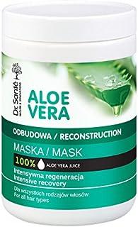 Dr. Sante Mascarilla Capilar Profesional Hidratante De Aloe Vera Y Queratina (Keratina) Con Cerámidas Naturales Pelo - Cab...