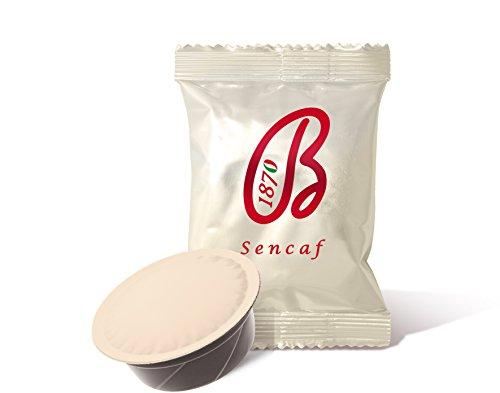100 Kapseln kompatibel A Modo Mio Sencaf Mischung (entkoffeiniert) - 100 Kapseln Mischung Espresso Barbera - Kaffee kompatibel A Modo Mio