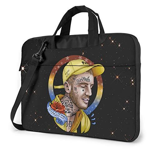 Lil Peep Shoulder Shockproof Laptop Bag Laptop Sleeve Case Ultra-Slim Laptop Computer Pouch Bag 15.6 inch