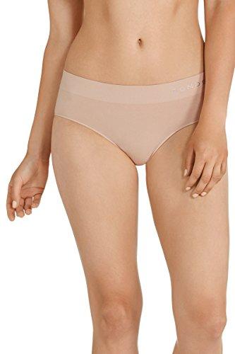 Bonds Women's Underwear Cotton Rich Comfytails Side Seamfree Midi Brief, Base Blush, 12