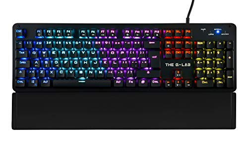 Keyz Carbon E, Teclado gaming mecánico de THE G-LAB