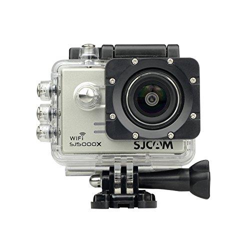 SJCAM SJ5000X 2K Gyro WiFi 2' impermeable cámara de acción deportiva (plata)