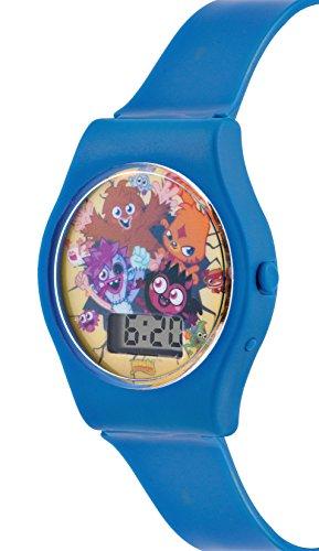 Moshi Monsters Blue Boys Digital Plastic Strap Watch MM018