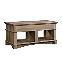 Sauder Harbor View Lift Top Coffee Table in Salt Oak