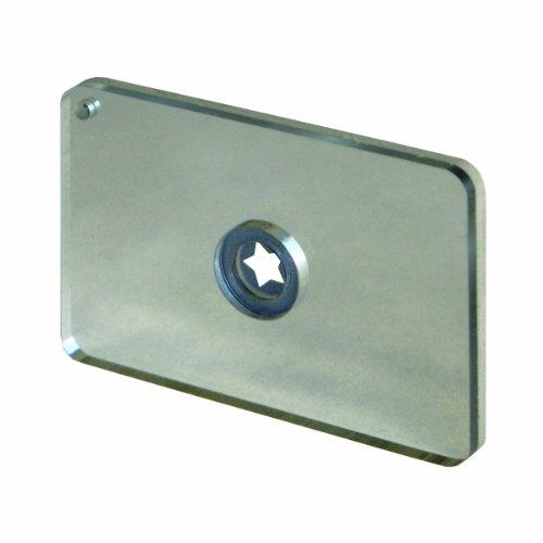 UST StarFlash Floating Signal Mirror, 2x3 inch, Marine