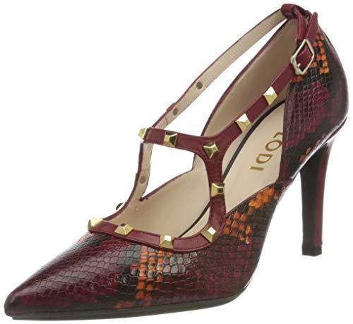 lodi ROXE-TPSR1, zapato tacón para Mujer, ANACONDA OPERA