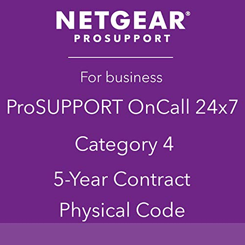 NETGEAR PROSUPPORT ONCALL CAT4 5-YR