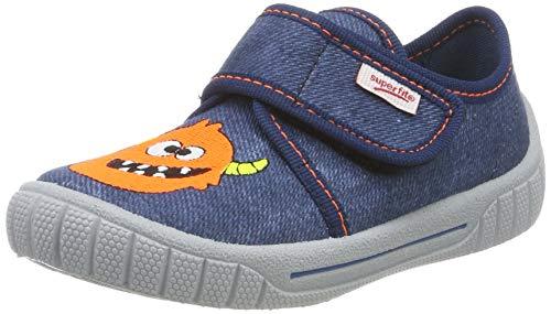 superfit Bill, Zapatillas de Estar por casa para Niños, Azul 80, 23 EU