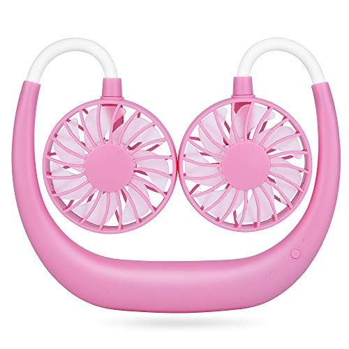 Simpeak USB-ventilator, stille 3 snelheden. roze