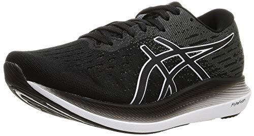 Asics Evoride 2, Road Running Shoe Mujer, Black/White, 39 EU