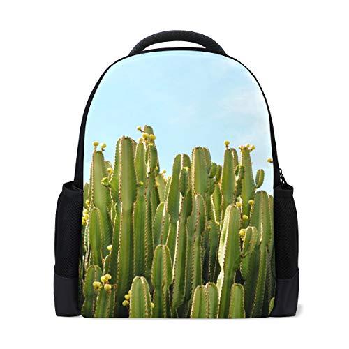 Scuola, Cactus nel deserto Scuola Laptop Zaino Casual Zaino da Viaggio Zaino Studente Libro Borse