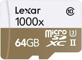 Lexar Professional 1000x 64 GB Class 10 UHS-II U3 Micro SDXC Card with Reader - LSDMI64GCBNL1000R