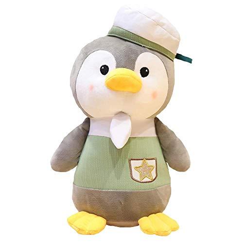 Kuscheltiere & Plüschtiere Kreatives Spielzeug Netter Klingel Pinguin-Plüsch-Puppe Pinguin-Plüsch-Spielzeug-Kind-Kissen-Puppe-Kind-Geburtstags-Geschenk (Größe: Grün-40cm), Größe: Grün-40cm Qingqiao