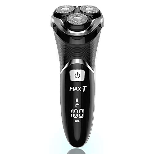 MAX-T Men's Electric Shaver - Corded and Cordless Rechargeable 3D...