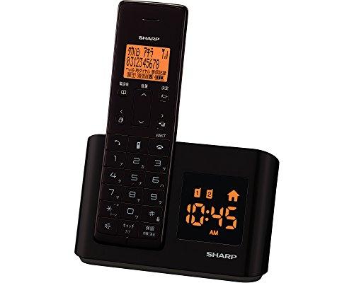 シャープ デジタルコードレス電話機 親機のみ 1.9GHz DECT準拠方式 ダークブラウン JD-BC1CL-T