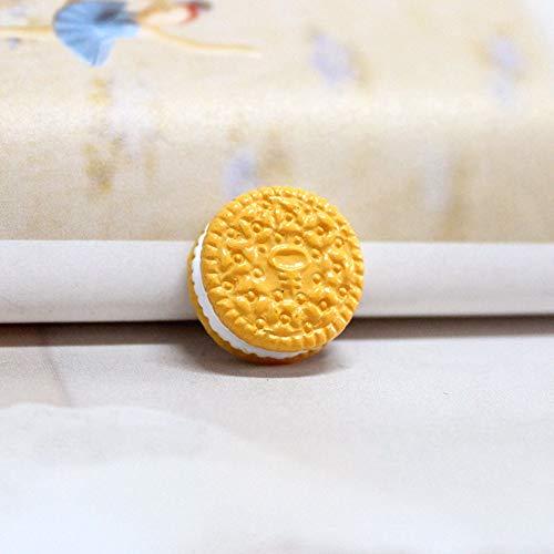 Scge 50 Piezas Resina Pastel bizcocho Comida Jugar