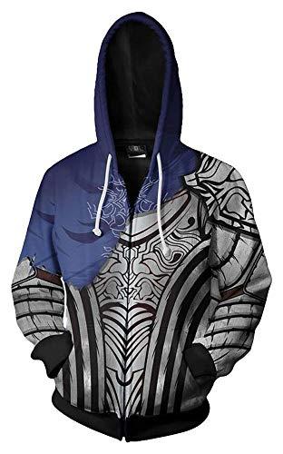 MingoTor Sudadera con capucha para hombre y mujer Artorias Dark 3D con capucha, para cosplay, unisex