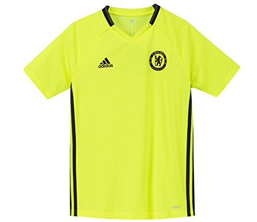 adidas jóvenes Chelsea FC Training Jersey - AP5628, Solar Yellow, Black, Granite