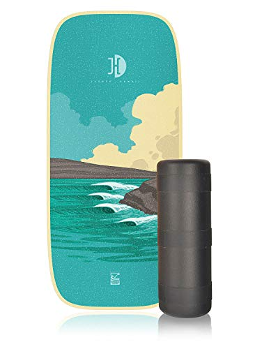 Jucker Hawaii Honolua Pro - Tabla de equilibrio (sin tope, incluye ruedas)