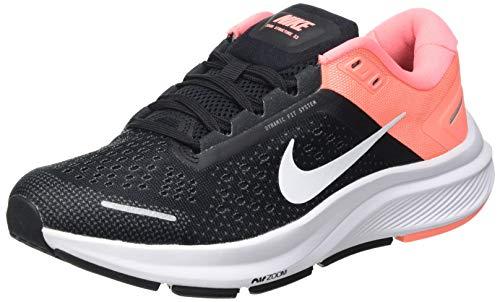 Nike Damen Air Zoom Structure 23 Running Shoe, Black/White-Crimson Pulse-Iron Grey, 40 EU