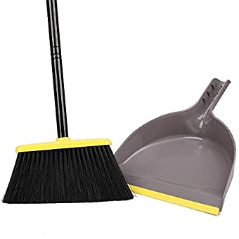 TreeLen LiKe Angle Broom with Dustpan