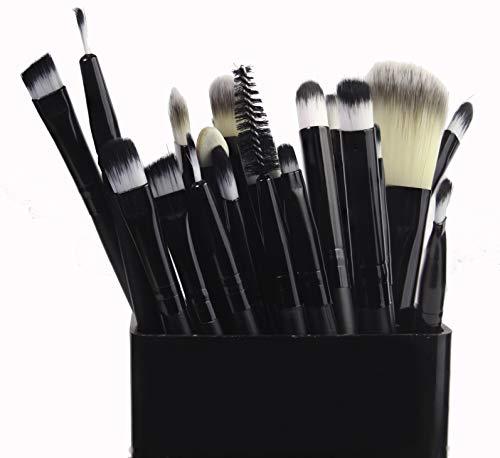 Professionelles Make-up-Pinsel-Set, 20-teilig, Grundierung, Lidschatten, Flachkopf, Lidschatten,...