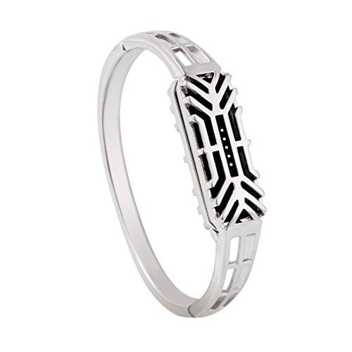 Vovotrade ❤❤Fashion Pure Kupfer Antioxidation Zubehör Armband Uhrenarmband Armband für Fitbit Flex 2 (Silber)