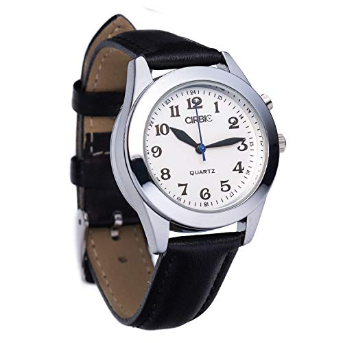 Talking Watch for Visually impaired, Blind (Black)