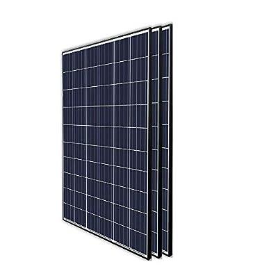 Renogy 3Pcs 300 Watt 24 Volt Monocrystalline Solar Panel 900W for Off-Grid On-Grid Large Solar System, Residential Commercial House Cabin Sheds Rooftop, Multi-Panel Solar Arrays