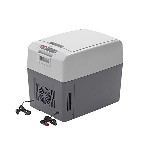 WAECO Thermoelektrische KÜHLBOX - TROPICOOL TCX-35 - 33 LITER - KÜHLLEISTUNG BIS 30 ° C unter Umgebungstemperatur - BETRIEB MIT STROM 12 / 24 / 230 Volt - Fassungsvermögen 35 Liter Inhalt - VERTRIEB d