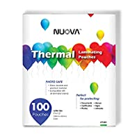 Nuova Premium Thermal Laminating Pouches 9 x 11.5, Letter Size, 3 mil , (LP100H) by NUOVA
