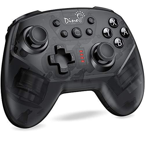 BEBONCOOL Nintendo Switch Controller, Wireless Switch Controller 6-Achsen Somatosensory mit TURBO Einstellbar, Switch Pro controller Zubehörsets kompatibel mit Nintendo Switch/Lite