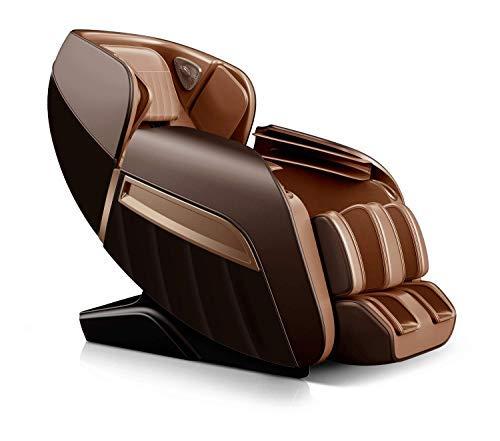 Future Massager Full Body 3D Luxury Zero Gravity Massage Chair with Bluetooth speaker & Charging slot Junior Roboking Plus (Brown)