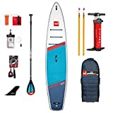Red Paddle 12'6″ Sport + Carbon 50 Nylon Tabla Sup Y Paddle,...