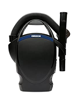 Oreck Ultimate Hand Held Bagged Canister Vacuum Cleaner Corded and Lightweight for Home and Car Black CC1600