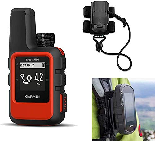 Garmin inReach Orange Mini with Backpack Tether
