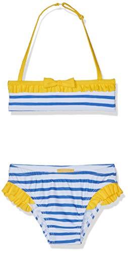 Chicco Costume Da Bagno Bikini Haut Et Bas De Maillot De Bain-Maternité, Bleu (Bianco E Blu 038), 74 (Taille Fabricant: 074) Bébé Fille