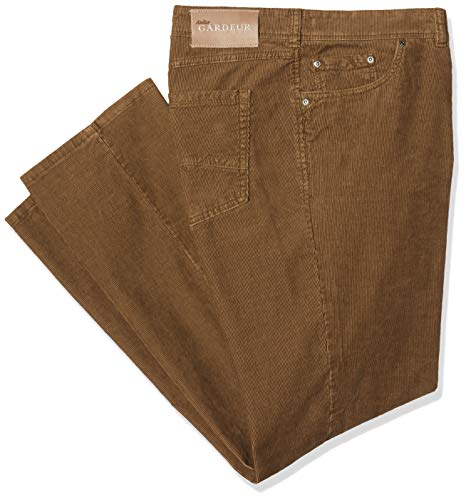 Atelier GARDEUR Herren Nevio Straight Jeans, Beige (Dunkelbeige 21), 42W/32L