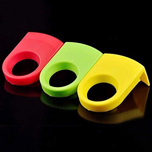 Clip de soporte para botellas de cerveza, 3 clips de plástico ABS para botellas de bebida, clips para copas de cóctel, accesorios de barra de barman, para gafas de copa y copa (color al azar)