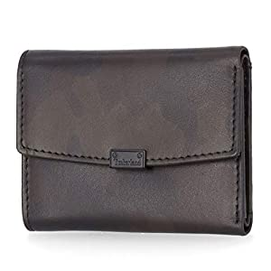 Timberland Women's Leather RFID Small Indexer Snap Wallet Billfold 27