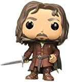 Funko POP! Movies: Lord of The Rings/Hobbit - Aragorn Collectible Figure Brown, Standard
