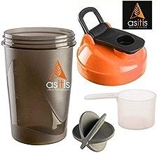 Asitis Nutrition AS-IT-is Shaker Bottle, 400ml, Black