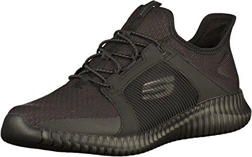 Skechers Herren Elite Flex-52640 Slip On Sneaker, Schwarz (Black), 43 EU